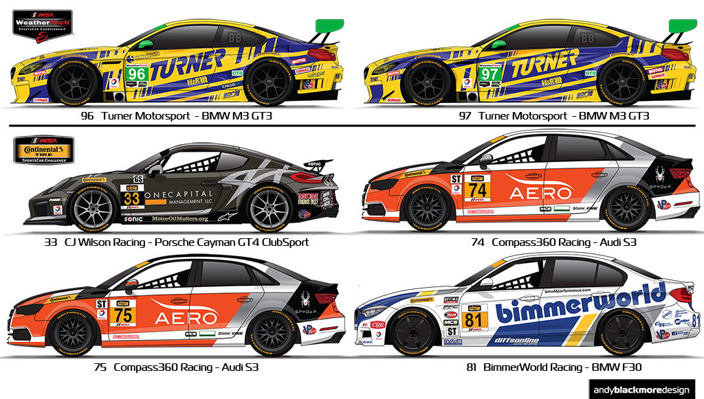 2016 Imsa Rolex 24 Update Andy Blackmore Design