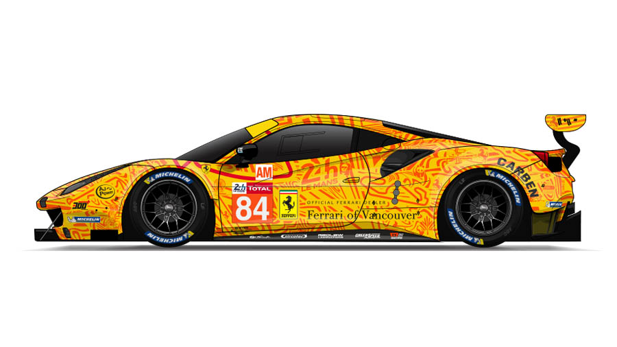 Livery Jmw Motorsport 2019 Le Mans Livery Andy Blackmore Design