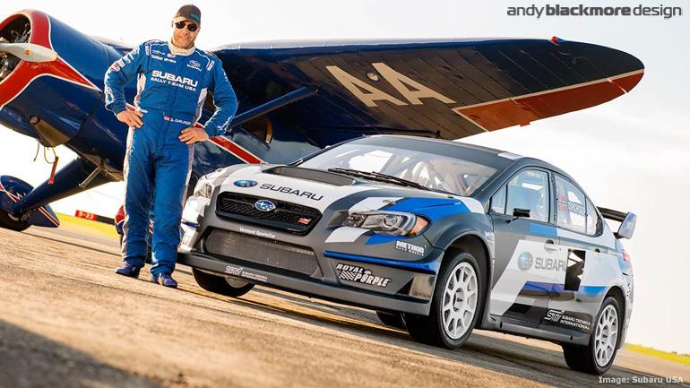 2015 Subaru WRX STi to make its Global Rallycross debut - Andy ...