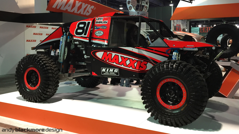 SEMA Show 2015 recap - Andy Blackmore Design