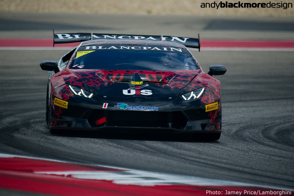 September 16-18, 2015 Lamborghini Super Trofeo, Circuit of the Americas: #14 Madison Snow, Bad Lambo Racing, Lamborghini of Beverly Hills, Lamborghini Huracan 620-2