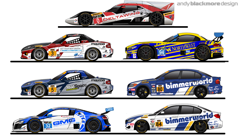 Livery An Overview Of Art For The 2015 Rolex24 Andy