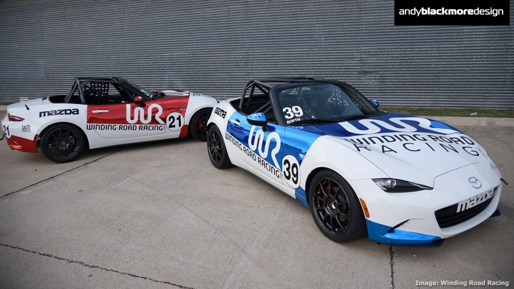 Livery: Winding Road Racing Mazda MX-5 Cup - Andy Blackmore