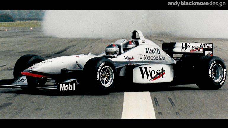 Styling: McLaren MP4-98T 2 Seater concept - Andy Blackmore Design