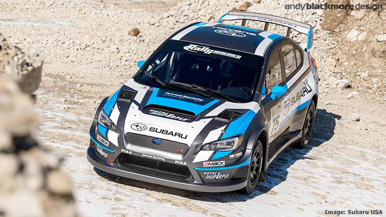 Subaru Rally Team Usa Reveals New Livery And Widebody On Their 2015