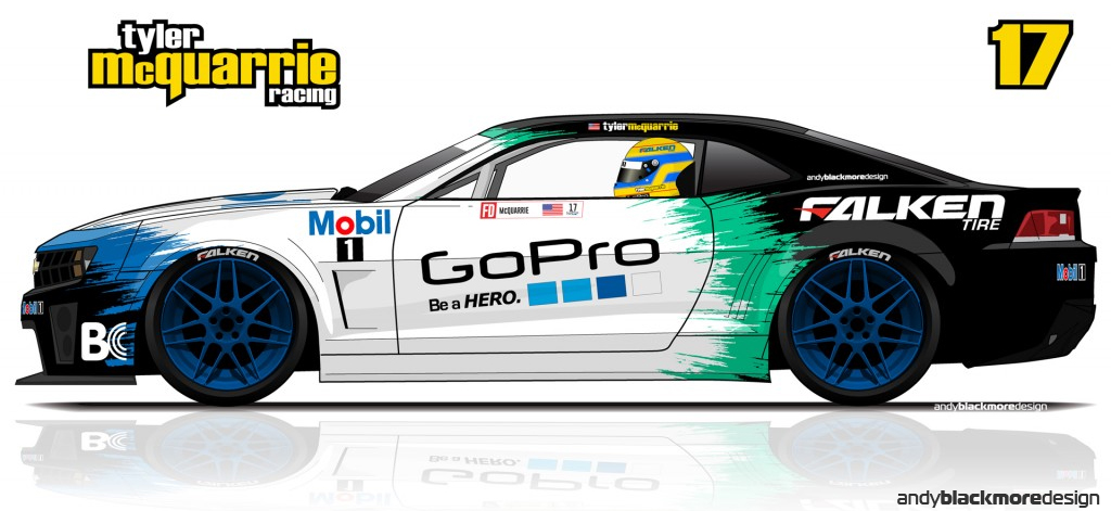 Formula Drift 2015 Livery Updates Andy Blackmore Design